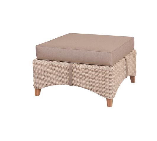 Collection Venice Wicker Smooth Teak Outdoor Furniture ...